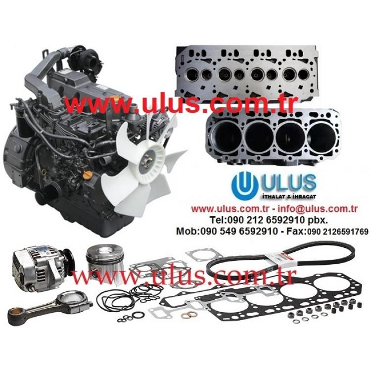 YANMAR 4TNE98-BQFLC Motor Yedek parça