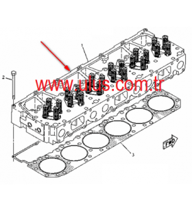 148-2149 Head Cylinder 3176 Engine CATERPILLAR D7R