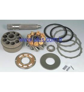 M2X170 KAWASAKI Hydraulic Pump Kit - Rotary Group = Block + Piston + Set Plate + Valve Plate + Pin + Guide