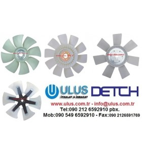 8980429080 Radiator Fan Coolling 6WG1 Engine ISUZU