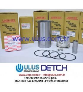 1-87813766-1 Liner Set Piston+ Ring Set+ Liner 6HK1 Engine ISUZU