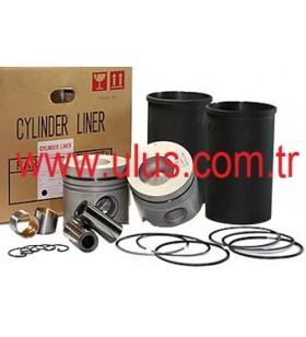 587814-8621 Liner Set = Piston + Ring set + Liner + Pin + snap ring 4HK1 Engine ISUZU