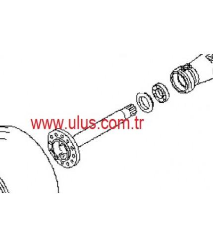 419-22-22710 Shaft axle WA320-3 Wheel Loader KOMATSU