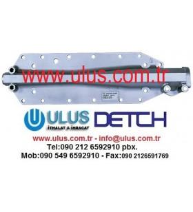 6150-61-2124 Cover Oil Cooller S6D125 Engine KOMATSU