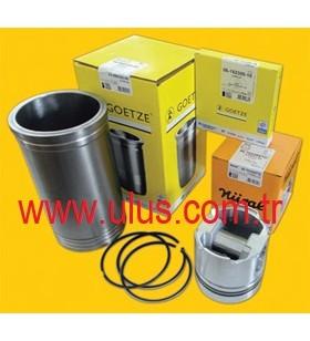 6138-32-2120 Piston + Pin + Ring set + Snap Ring 0.20 low S6D110 Motor KOMATSU