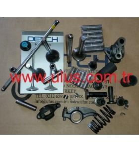 6150-12-1370 Guide Valve SAA6D125 Engine KOMATSU