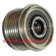 A252C559FE Alternator freewheel clutch  MITSUBISHI MEGANE III DACIA LODGY NISSAN JUKE 535015410 INA, MITSUBISHI - A252C55975, MITSUBISHI A252C559FE, NISSAN JUKE 231513VD1A
